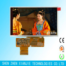 5.0inch tft lcd module 800*480 24 bit parallel interface 400 cd/m2