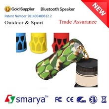 2015 China Fashional portable speaker cabinets, bluetooth 4.0 active speaker 2.0 Channel