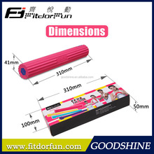 Luxury Length 31cm Colored 1 Rubber Tube and 3 Rubber Cores Body Strong Fitness Equipment Twister Bar Factory