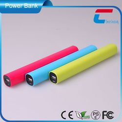 Color Stick emergency power bank 5600mah,power bank stick,power bank charger 5600mah