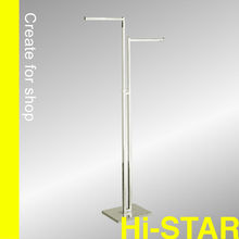 HR1004 2 way square tubing straight auto adjusted metal stand rack