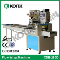 Pillow Bag Flowpack Beef Pork Jerky Pack Horizontal Flow Chicken Roll Meat Packaging Equipment Bacon and Ham Packing Machine