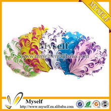 DIY wholesale feather hair accessories curly nagorie feather pads
