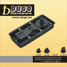 High Quality Bidirectional Open Heavy Duty Gate Floor Springs Closer,Popular Style Floor Hinge Door Closer DUGO 1800