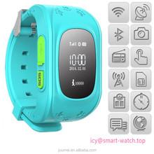 2015 GPS Navigation Kids Smart Watch Q50 , Andorid iOS Bluetooth Anti-lost WiFi Monitor Security Study Activity Sleep