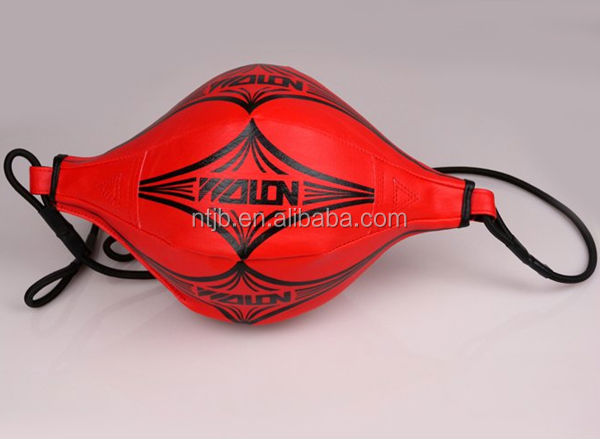2014 newly High quality Double Ended Leather Speed Ball