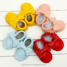 butterfly italian leather moccasin baby shoes, new design baby shoes