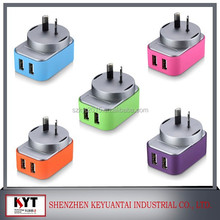 universal travel adapter with usb charger with CE.Rohs.Fcc.SAA certificates