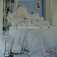 100% cotton feather bed set/hometextile (high quality)