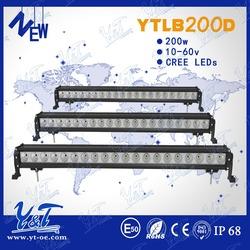 1 YEAR WARRANTY led light bar off road 200W led light bar stainless steel led car roof rack light bar