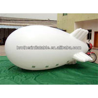 Advertising remote control inflatable airship