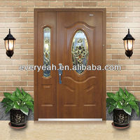 STEEL SECURITY DOOR WITH LUXURY GLASS