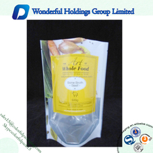 500g Plastic Packaging Bag/Dried Mushroom Packaging Bag/Plastic Food Packaging Bag Reusable Stand up Pouch