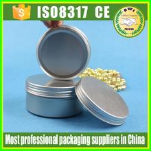 Aluminum Tin / Aluminum can 10g 15g 20g 30g 50g cosmetic skin care cream use Aluminum jar