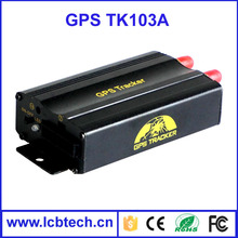 hand-helded online gps/GPRS sim card vehicle car gps tracker with SMS tracker TK103A