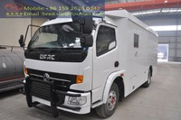 Hot sale armored mobile truck for cash carrier