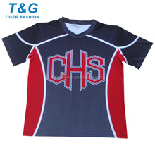 NEW men sublimation cheer top