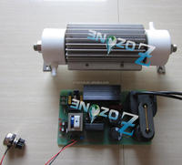 15g/h water cooling ozone tube used for water treatment