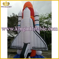 Giant Outdoor Advertisement Inflatable Rocket Model For Sale
