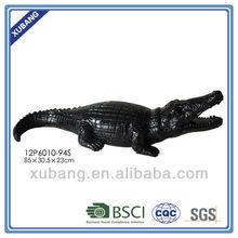Crocodile decor Animal Decoration Animal Metal Garden Art