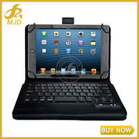 Android IOS Leather Bluetooth Keyboard Case For 7 Inch 8 Inch Tablet Pc