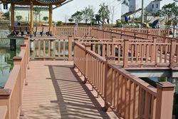 Waterproof Outdoor Wood Plastic Composite/WPC Railing/ Fencing