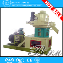 Fully Automatic Lubrication System ring die pellet making machine for sale