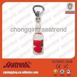 Customized Best Selling Lovely Bottle Opener Fridge Magnet For Home-used