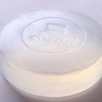 rose manual transparent soap skin care coconut oil honey soap
