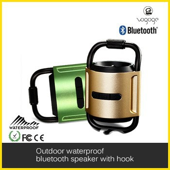 2015 climber mini bluetooth speaker with hook