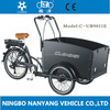 Hot sale family electric cargo trike