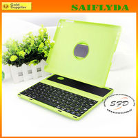 2013 New arrival Fashionable removable stand bluetooth keyboard case for ipad 2 3 4 factory price