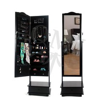 Make up jewelry wardrobe chest of drawers stand mirror with roles