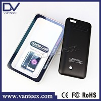 ODM/OEM factory directly 4200mah rechargeable waterproof battery case for iphone 6 Plus with Approvement CE FCC ROHS