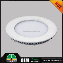 2015 hot new products for milk white fitting combined round led panel light ul/cul/csa 5 years warranty