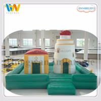 Promotional Factory Price Inflatable Fun City, Outdoor Inflatable Amusement Park