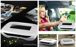 Solar Powered Car Air Cleaner And Car Air Purifier