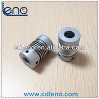 flexible bellows spring coupling for encoder