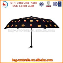 tres veces de melón paraguas paraguas de alta calidad en shenzhen