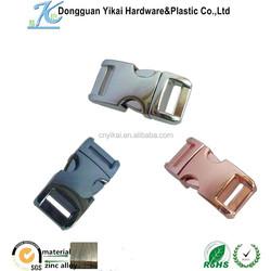 Dongguan Yikai new wholesale custom fashion metal bag buckles