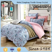 2015 pure cotton new designs luxury bed cover set bed sheet fabric new bed sheet design print your own duvet cover
