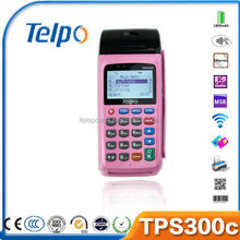 Telepower Mobile Bill Payment TPS300C Merchant Services Payment System POS with Thermal Receipt Printer