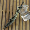 lol keychain, the game League of Legends lol for Dragon sword weapon model key ring(SWTMD1566)