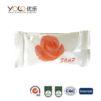 cheap free sample alkaline body soap for airline hotel