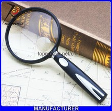3X90mm magnification medical cheap magnifying glass magnifier for wholesale