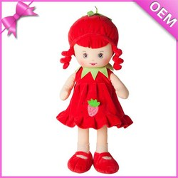 3d face plush doll,embroideried plush fruit & vegetables dolls