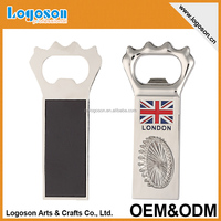 Custom tourist 3d souvenir London bottle opener fridge magnet
