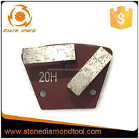 Grit 20# Hard Bond Diamond Concrete Grinding Shoe Plate