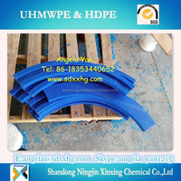 various size UHMWPE Conveyor chain track rail/UHMWPE Chain Guide & Corner Track