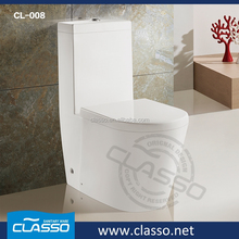 Hot design water flush steel seat toilet